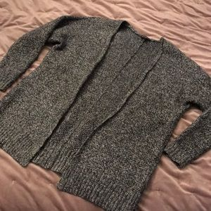 Black and Gray Express Sweater